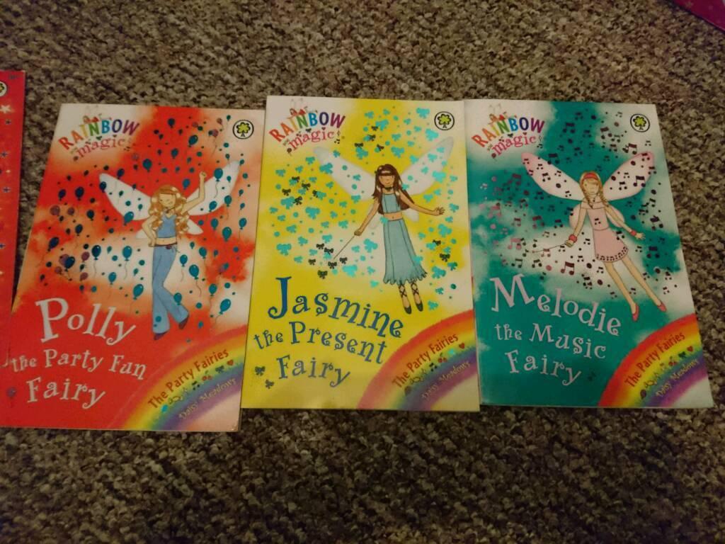 Set of 3 rainbow magic books