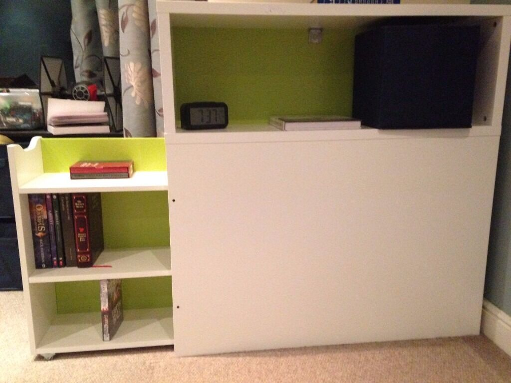 IKEA FLAXA headboard with storage in Shandon, Edinburgh Gumtree