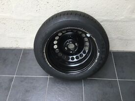 Brand New Spare Wheel/Tyre for Corsa 1.2