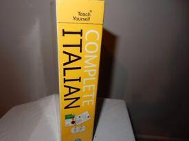 Teach Yourself Complete Italian (Book/CD Pack) (Teach Yourself Language)