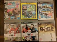 Playstation 3 (PS3) games bundle for ages 6 upwards