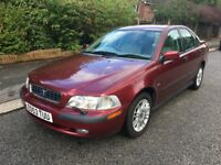 VOLVO S40 AUTOMATIC - LOW MILES - ONLY 2 OWNERS FROM NEW - DRIVES SUPERB - EXCELLENT CONDITION