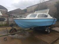 17ft Shetland style boat