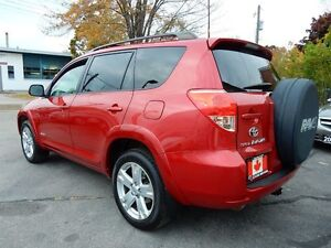 2007 Toyota RAV4 V6 4WD | SPORT | P.SUNROOF | NO ACCIDENTS Kitchener / Waterloo Kitchener Area image 5