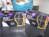 2 sets of net lights like new