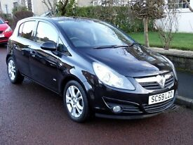 "2010 (59) Vauxhall Corsa 1.2 SXI ""LOW MILEAGE"" Long MOT"