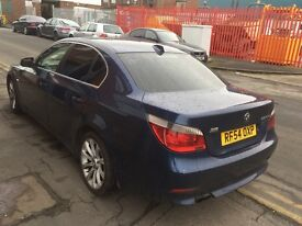 For sale Bmw 5 series auto 54 plat in 2005 reg 2.5 engine diesel run and drive perfect