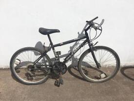 Black bike for teenager
