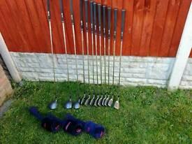 Wilson 1200 tour golf clubs