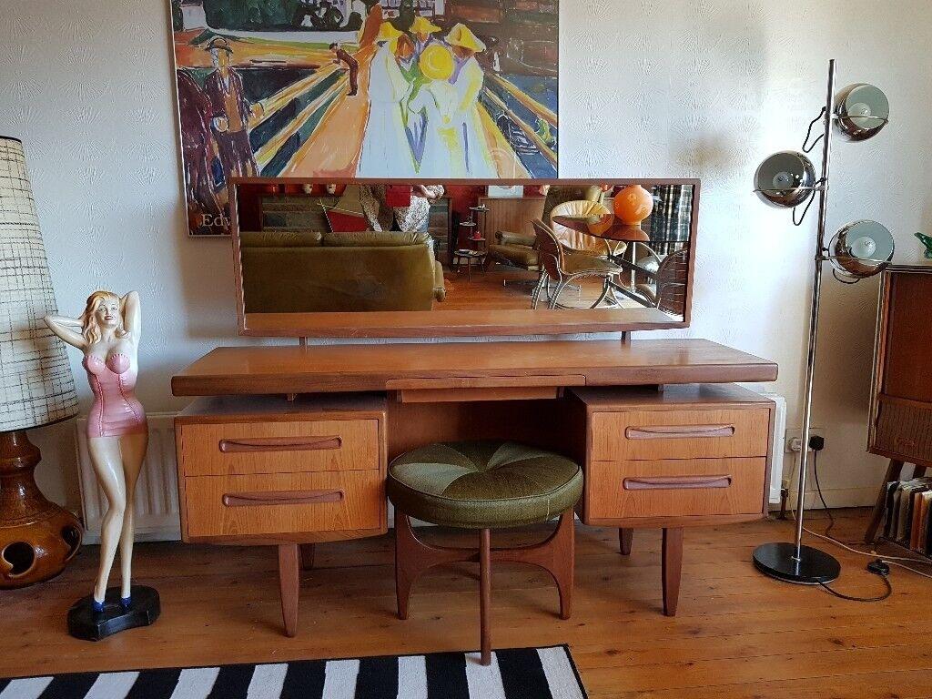 Vintage Mid Century Design G Plan Fresco Floating Top