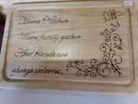Beautiful wooden bread board