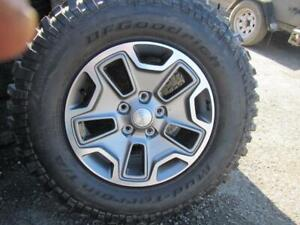 Jeep Spare (New)---1 only---LT255/75R17 BFG Mud Terrain (NEW)