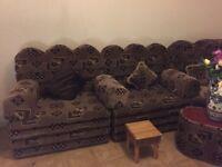 Lovely morrocan corner sofa 9seater