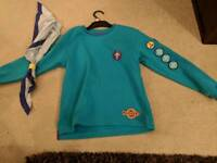 FREE Newmarket Beavers Sweater, toggle, neck tie
