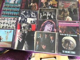 16 Rolling Stones Vinyl albums - original with inserts etc