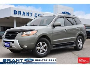 2009 Hyundai Santa Fe GLS 3.3L - LEATHER, ROOF!