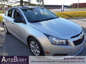 2013 Chevrolet Cruze LS *** Certified and E-Tested *** $7,999