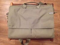 """Military Green """"InCase"""" Laptop carrying case - used"""