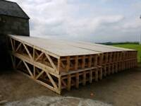 Sheeted lean 2 truss x6 {rathfriland}