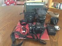 For sale Panasonic LUMIX G2 camera.