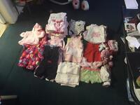 Baby girls clothes 0-3 months/Over 100 items.