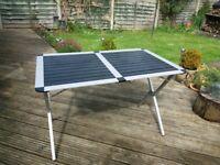 Aluminium portable, folding Picnic/Camping/Garden table