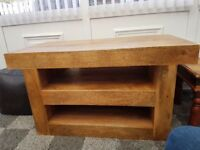Solid Mango Wood TV Unit