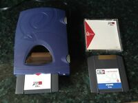 IOMEGA ZIP 250 EXTERNAL DISK DRIVE (SCSI) - WORKS WITH PC AND MAC