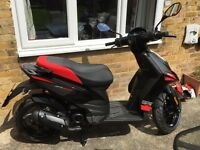 2015 Aprilia SR Motard 50 owner from new and only 75 kilometres