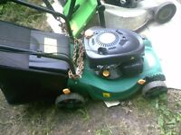 PETROL MOWER AS NEW CINDITION
