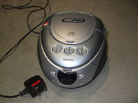 Matsui CD player, radio & cassette player