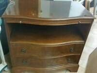 Writing with w drawers lackered Buero H76cm L78cm H47cm