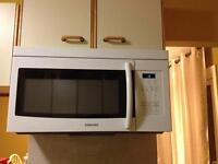 Full size Over the range microwave