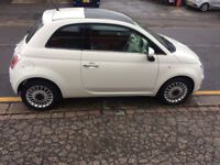 Fiat 500 Lounge 2010,1.2L petrol,A/C,Stop Start,10 month MOT,serviced,40K