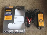 HALFORDS SMARTCHARGE 200 BATTERY CHARGER, HARDLY USED.