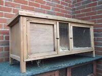 Single story hutch, guinea pig, rabbit