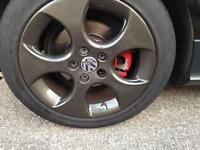 Mk5 Golf 17inch monza alloys with tyres
