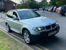 image for BMW X3 SPORT 3.0 PETROL 4X4 FULLY LOADED