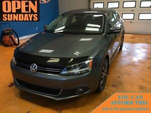 2014 Volkswagen Jetta 2.0 TDI Highline! LEATHER! SUNROOF!