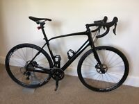 Specialized diverge 58cm Carbon, gravel, Road racing bike, shimano 105 groupset hydraulic brakes.