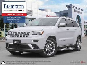 2016 Jeep Grand Cherokee Summit   4x4   1 Owner Trade-in   Fully
