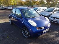 Nissan Micra 1.0 E 5dr, 2 FORMER KEEPERS, HPI CLEAR, LONG MOT, CHEAP TO TAX & INSURE, P/X WELCOME