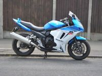 suzuki gsx 650 f 2010 4500 miles only from new damaged repaired part replaced mot good condiition