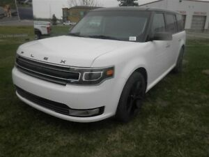 2018 Ford Flex Full Load Limited Leather Roof & NAV 7 Passenger
