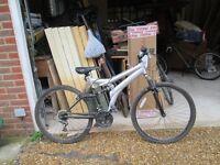 Dunlop Kids double suspension mountain bike