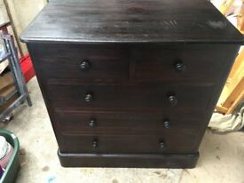 solid pine draw unit for sale