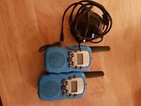 Rechargable walkie talkies