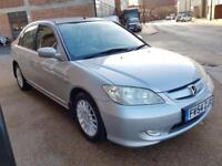 2005 Honda Civic IMA HYBRID HEATED LEATHER £30 year road tax