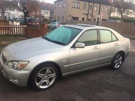 LEXUS IS200 2 OWNERS FULL SERVICE HISTORY