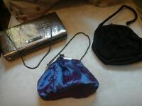 3 evening bags as new condition